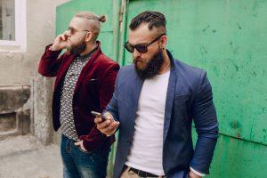 Millennial hipsters