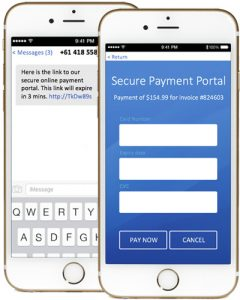 Premier Contact Point - when a bill is due, send a message containing a link to the automated payment page or call a toll free number to pay the bill