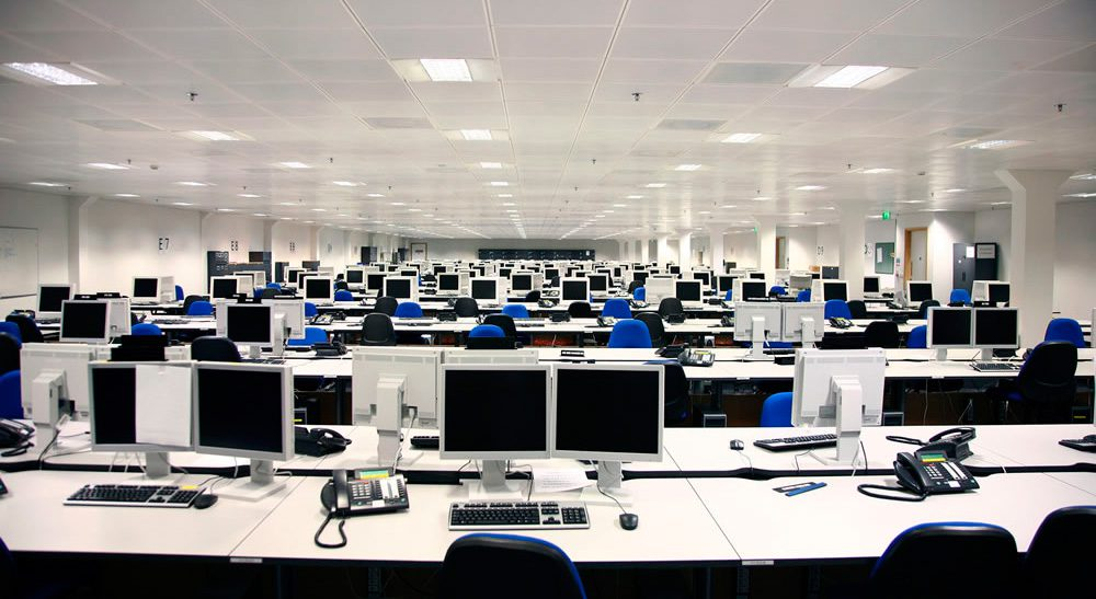 contact centre workers