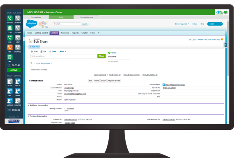 PCP - Salesforce integration
