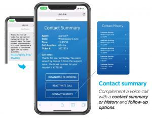 Contact summary